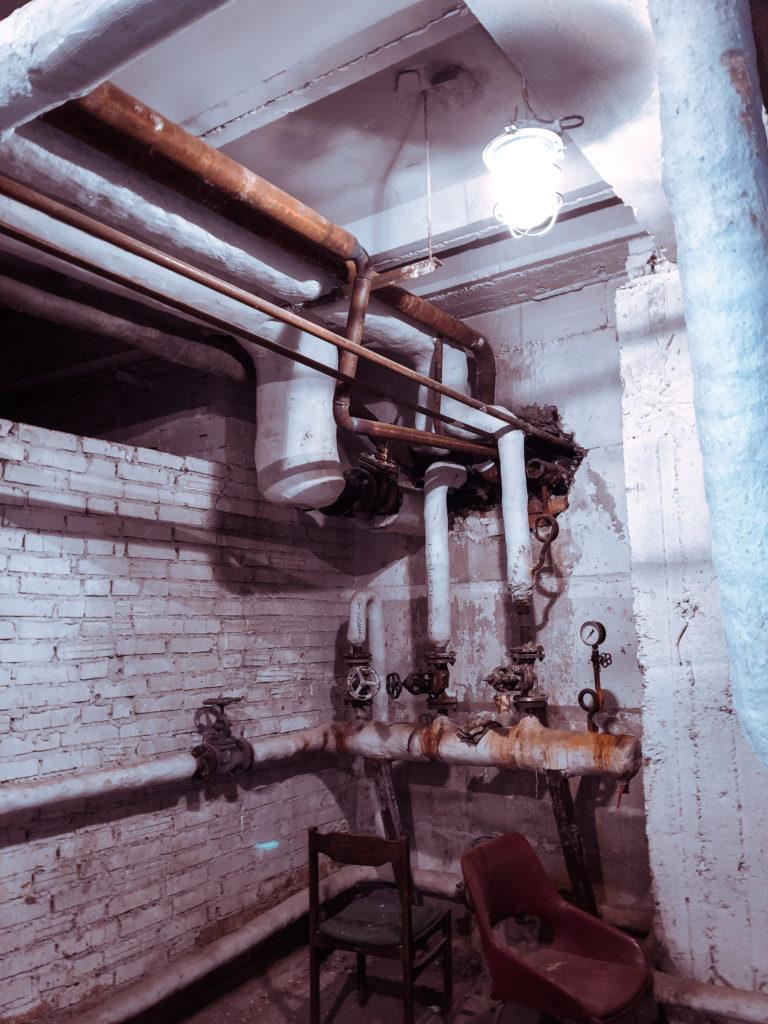 обследование систем отопления и водоснабжения, внутренних сетей
